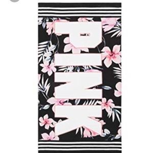 VS Pink Beach Towel 🌴